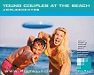 Young couples at the beach (CD096)