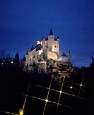 Alcázar, medieval fortress. Segovia. Spain