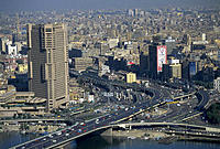 Aerial View of Cairo. Egypt