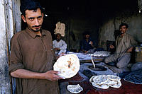 Bakery. Karakoram Highway. Pakistan