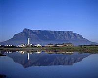 South Africa. Cape town. Table mountain.