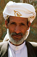 Man. Amran. Yemen