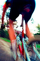 Mountain biker