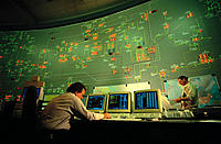 Power grid control room