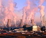 Petrochemical plant. Scotland