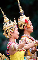 Traditional Thai dance. Bangkok. Thailand