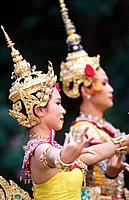 Traditional Thai dance. Bangkok. Thailand