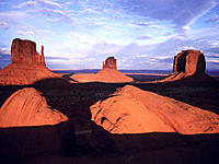The Mittens. Monument Valley. Arizona-Utah. USA