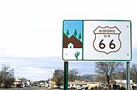Route 66 sign. Arizona. USA