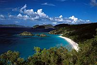 Trunk Bay. Saint John. U.S. Virgin Islands