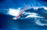 Windsurfing. Maui. Hawaii