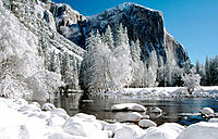 Yosemite National Park, winter. California. USA