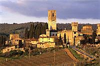 Badia a Passignano. Tuscany. Italy