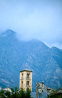 Church of Sant Climent. Taüll. Lleida province. Spain