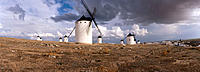 Windmills. Campo de Criptana. Ciudad Real province. Spain