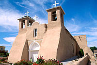 Church of San Francisco de Asís. Taos. New Mexico. USA