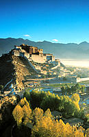 Potala Palace, exiled Dalai Lama´s winter palace. Tibet