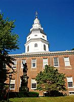 State House. Annapolis. USA