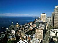 Elliot Bay. Seattle. Washington. USA