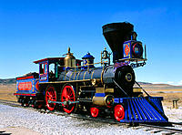 Golden Spike National Historic Site. Utah. USA
