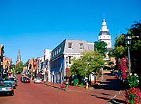 Main Street. Annapolis. USA
