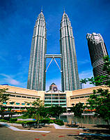 Petronas Twin Towers. Kuala Lumpur. Malaysia
