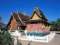 Wat Xieng Thong. Luang Prabang. Laos