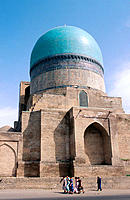 Kok-Gumbaz mosque. Shakrisabz. Uzbekistan