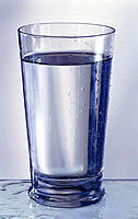 Glass, Mineral water, Tumbler