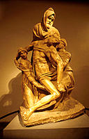 ´Pietà´, by Michelangelo. Duomo Museum. Florence. Italy