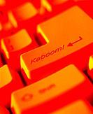 Close-up, Computer Key Reading Kaboom