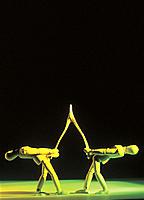 Mannequins Pulling Wishbone