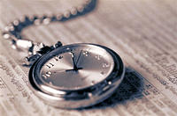 Pocket Watch and Stock Market Listings