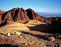 Neguev Desert at dusk. Eilat. Israel