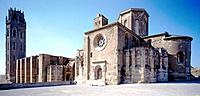 La Seu, old cathedral. Lleida. Spain