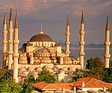 Blue Mosque. Istanbul. Turkey