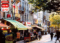 William II Square. Luxembourg City. Luxembourg