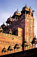 Jami Masjid (Great Mosque). Fatehpur Sikri historical site. Southwestern Uttar Pradesh. India