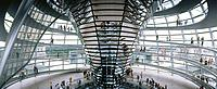 Reichstag Dome, by sir Norman Foster. Berlin. Germany