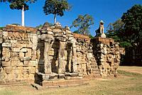 Terrace of the Elephants. Angkor. Cambodia