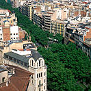 Diagonal Avenue. Barcelona. Spain