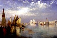 Doge´s Palace, Grand Canal 1898 Thomas Moran 1837-1926/American Oil on Canvas The Cummer Museum of Art and Gardens, Jacksonville, Florida, USA