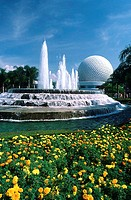 Spaceship Earth Epcot Walt Disney World Orlando, Florida, USA