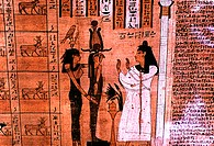 Book of the Dead: Women Before Horus Egyptian Art
