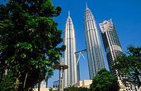Petronas Twin Towers. Kuala Lumpur. Malaysia