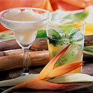 Cuban cocktails: Daiquiri and Mojito