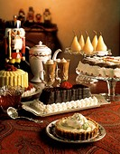 Several Desserts for Christmas