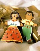 Christmas Gingerbread People Cookies