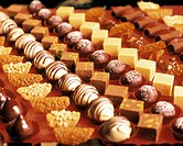 Assorted Sweets: Petits Fours and Chocolates