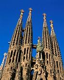 Antoni, Architecture, Barcelona, Cathedral, Church, Europe, Gaudi, Holiday, Landmark, Ornate, Sagrada familia, Spain, Europe, Sp
